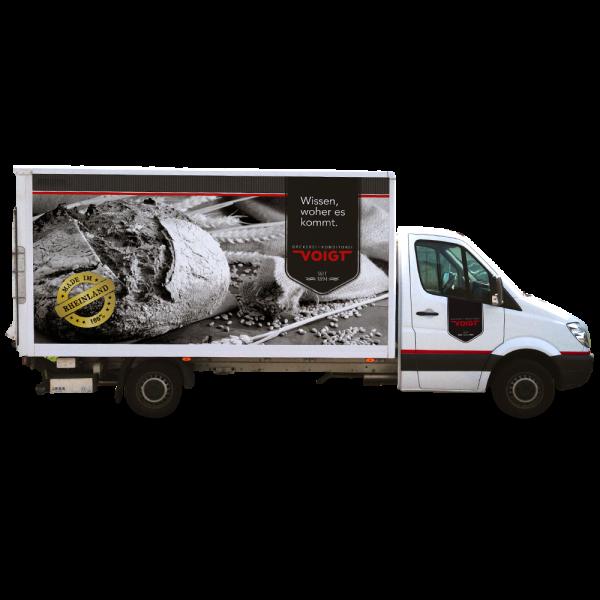 Fahrzeugbeschriftungen - Erscheinungsbild - Ihr Unternehmen