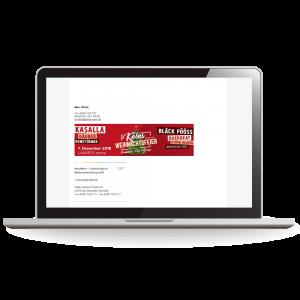 E-Mail-Signaturen - Geschäftsausstattung - Ihr Unternehmen