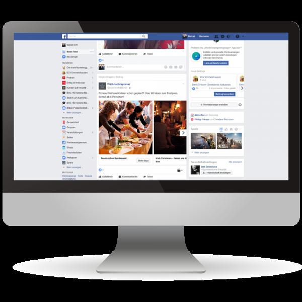 Facebook-Werbung - Online-Marketing - Ihre Kunden