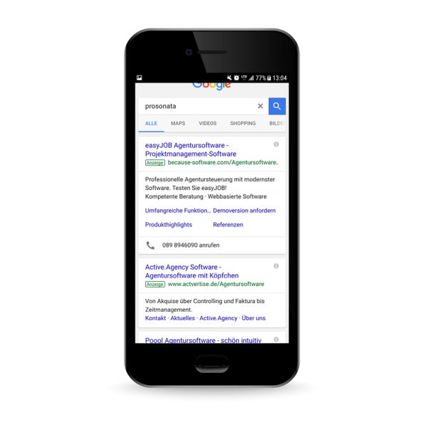 Google AdWords - Online-Marketing - Ihre Kunden