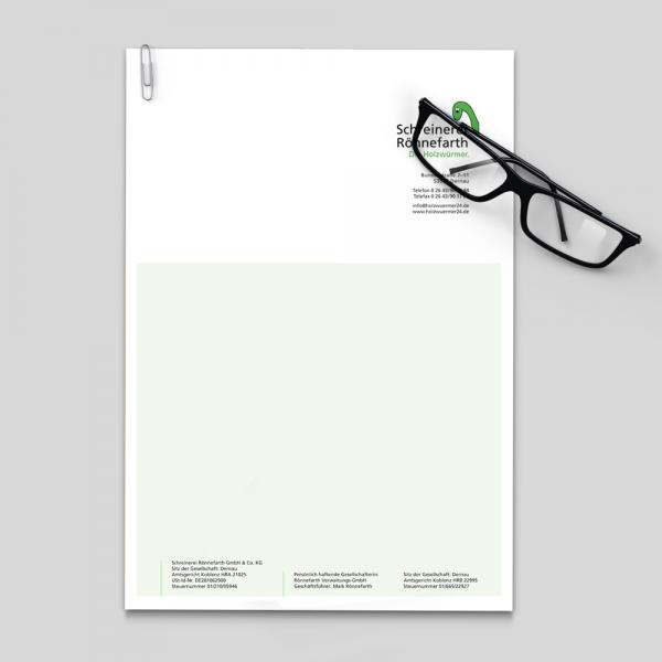 Briefbögen - Geschäftsausstattung - Ihr Unternehmen