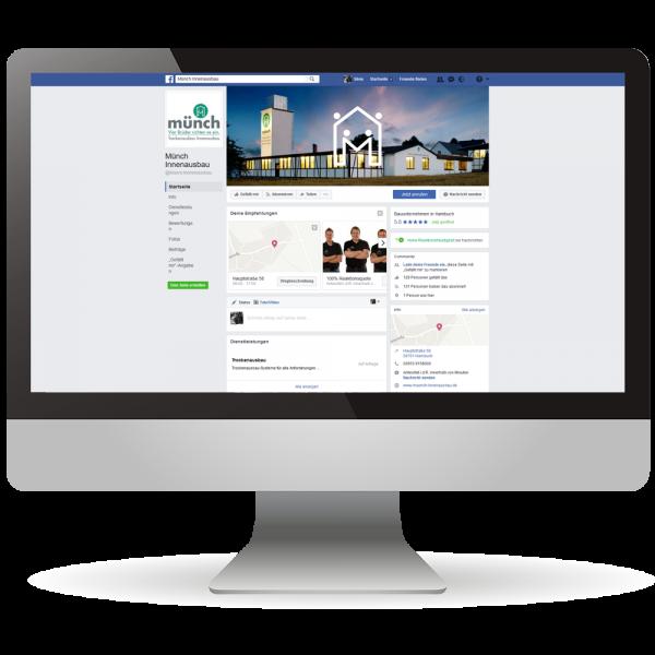 Facebook-Unternehmensseiten - Online-Präsenz - Ihr Unternehmen