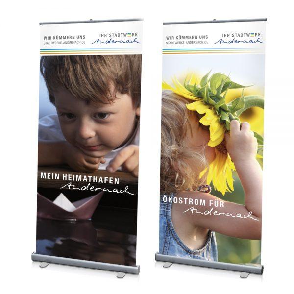 Plakate / Roll-Ups / Werbe-Banner - Werbe-Medien - Ihr Unternehmen