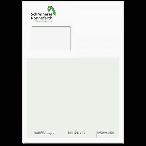 Umschläge - Geschäftsausstattung - Ihr Unternehmen