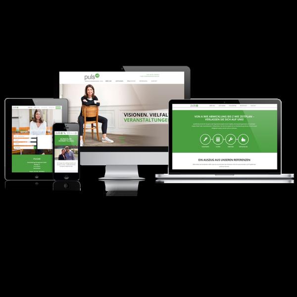 Website-Flats - Online-Präsenz - Ihr Unternehmen