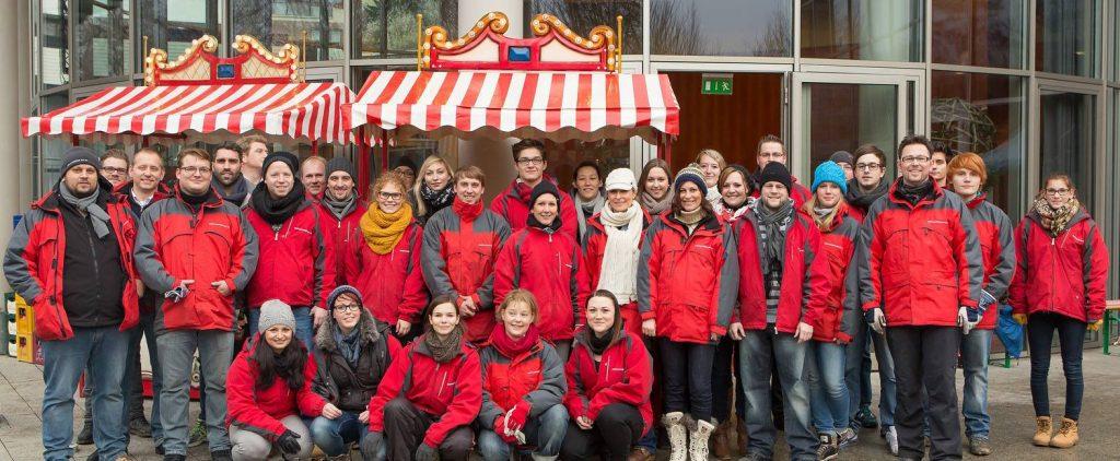 Teamfoto Weihnachtsplaner