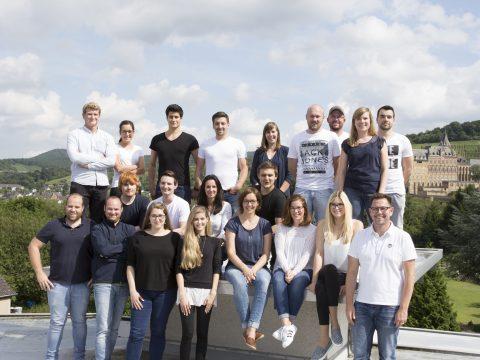 Teamfoto Marketingflotte