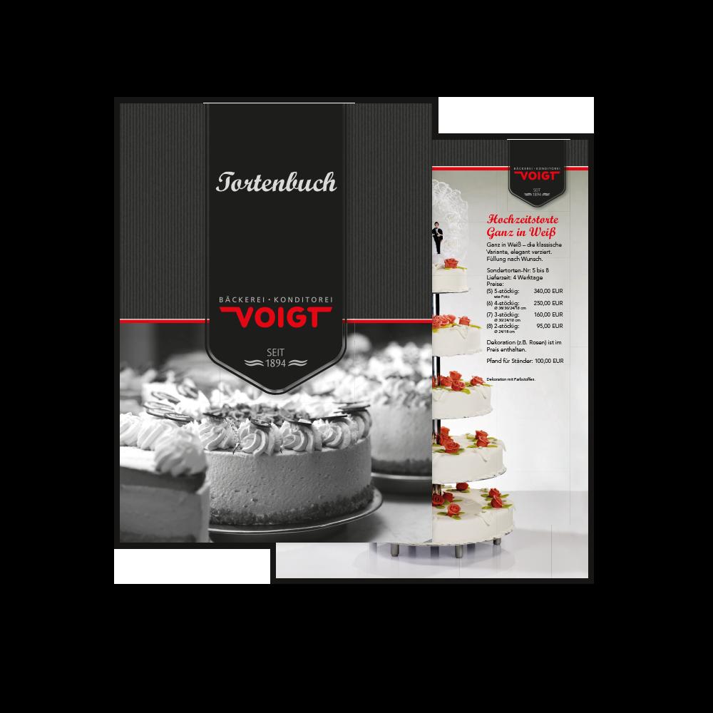 Bäckerei Konditorei Voigt Tortenbuch